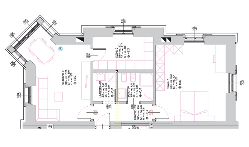 Planimetria case best offerta commerciale case in vendita for Software planimetria casa